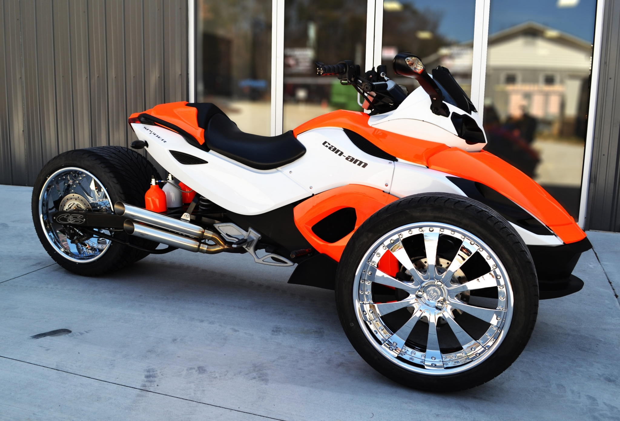 500mm hotrod wide tire kits for can am spyder
