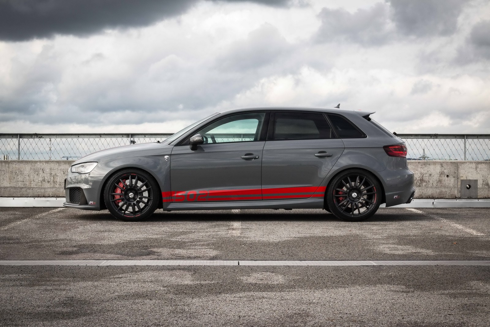 502 HP Audi RS3 R by MTM Sounds Nuts, Reaches 290 KM/H ...