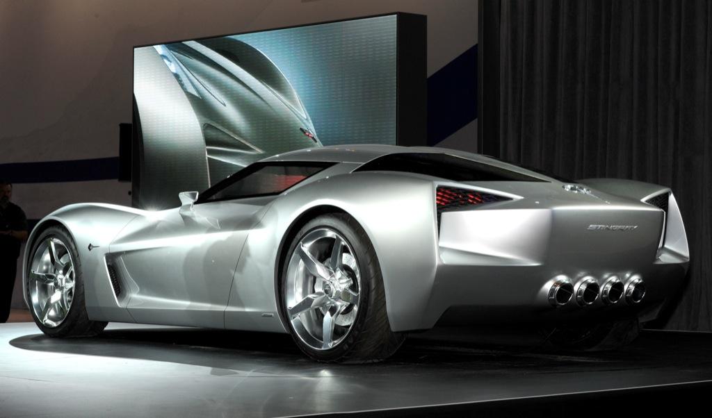50th Anniversary Chevrolet Corvette Stingray Concept New Photos ...