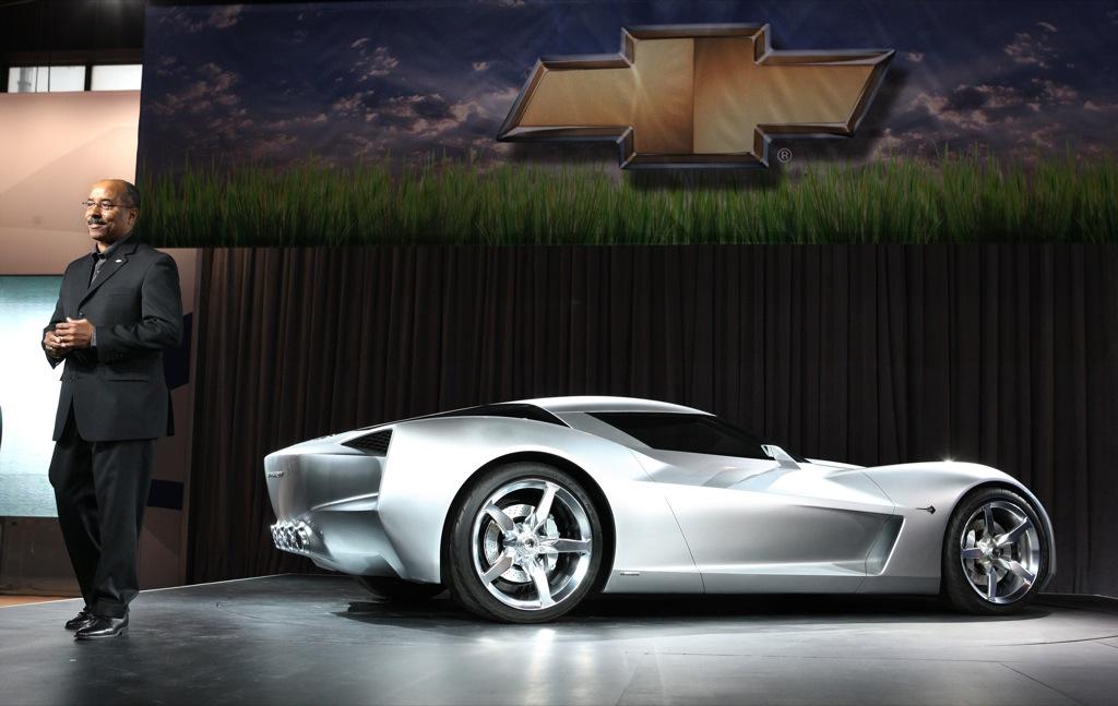 Th Anniversary Chevrolet Corvette Stingray Concept New Photos