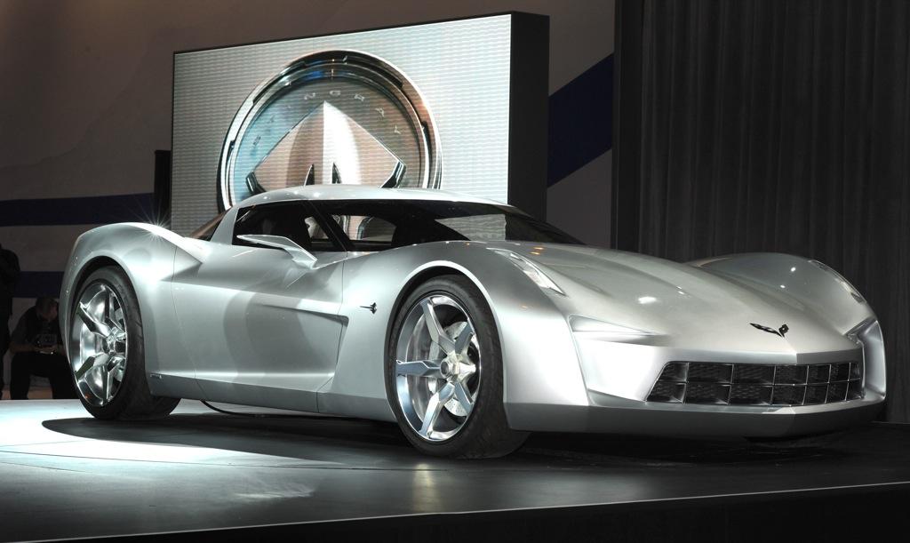50th Anniversary Chevrolet Corvette Stingray Concept New
