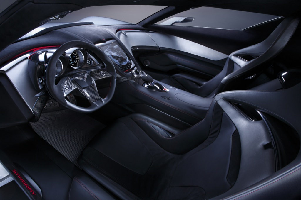 50th anniversary chevrolet corvette stingray concept new photos autoevolution