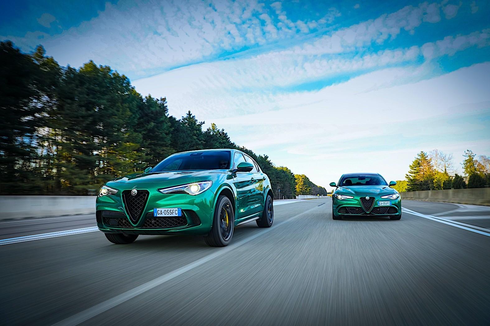 510 HP Alfa Romeo Giulia, Stelvio Quadrifoglio Get Minor