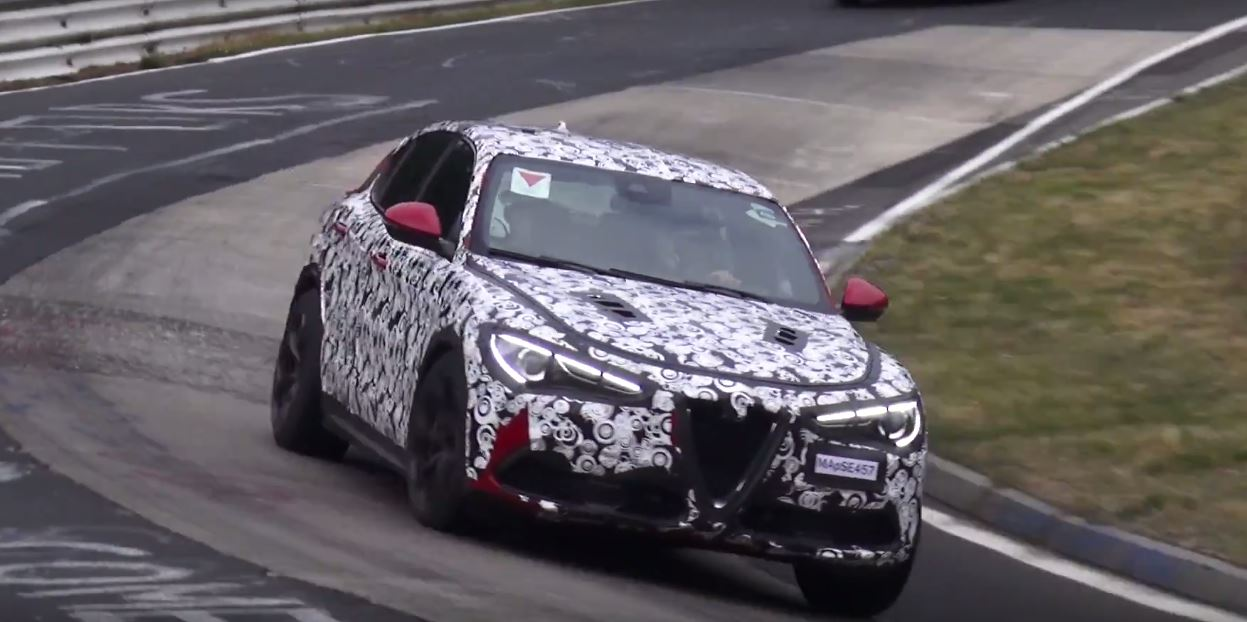 Alfa Romeo Stelvio Q Hits Nurburgring Will Steal Porsche S Suv