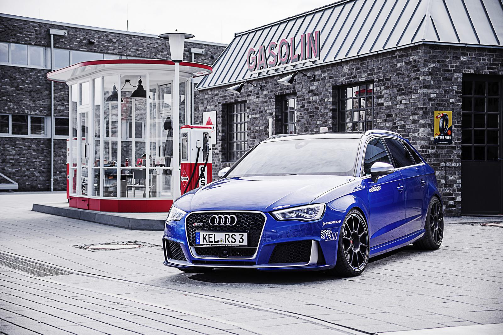 520 hp audi rs3 by oettinger proves it can hit 100 km h in. Black Bedroom Furniture Sets. Home Design Ideas