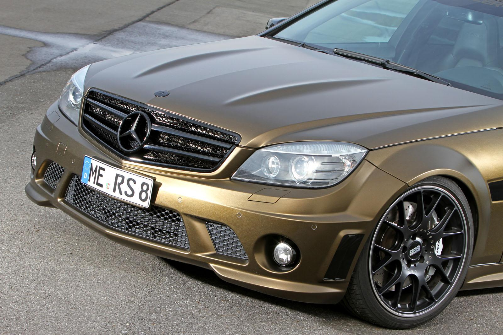 540 Hp C 63 Amg Wagon Is A Perfect Fit For A Gold Rush
