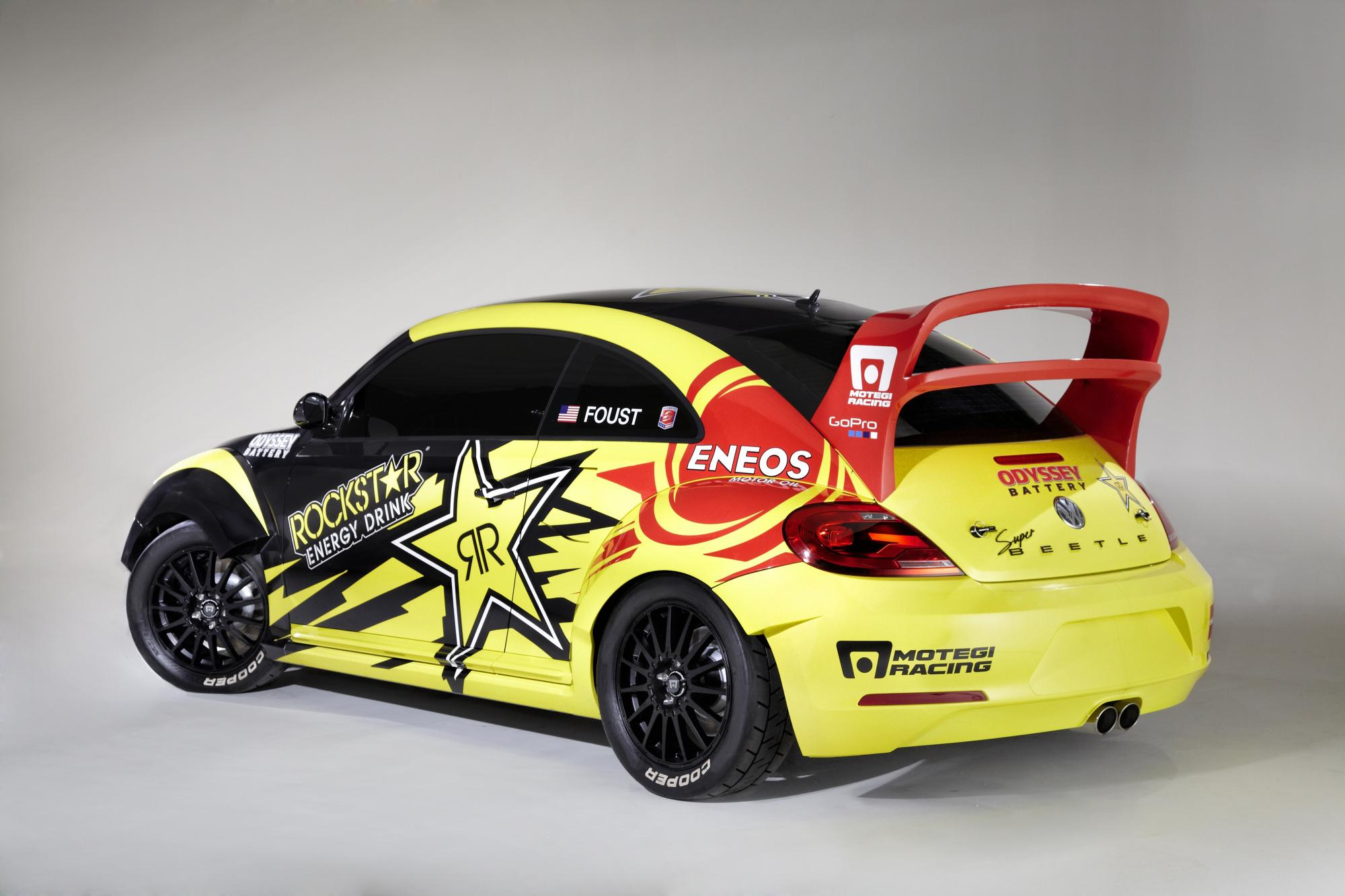 560 HP Volkswagen Beetle Revealed for 2014 Rallycross - autoevolution