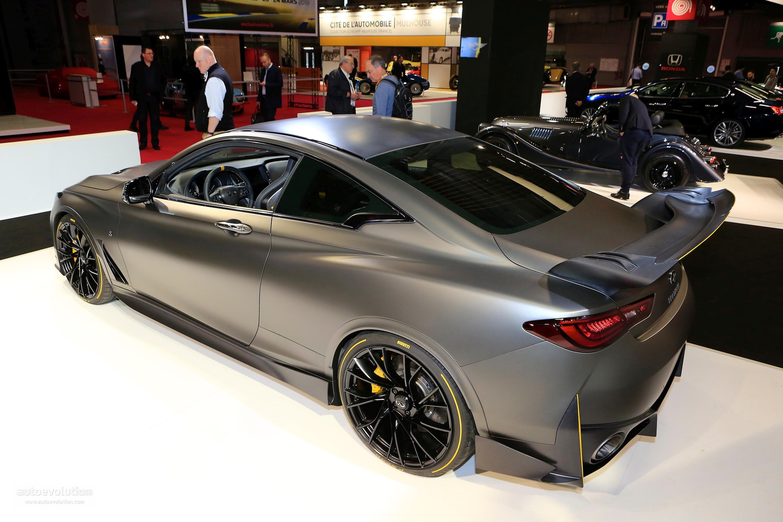 563 Hp Infiniti Q60 Black S Shows Functional F1 Hybrid In