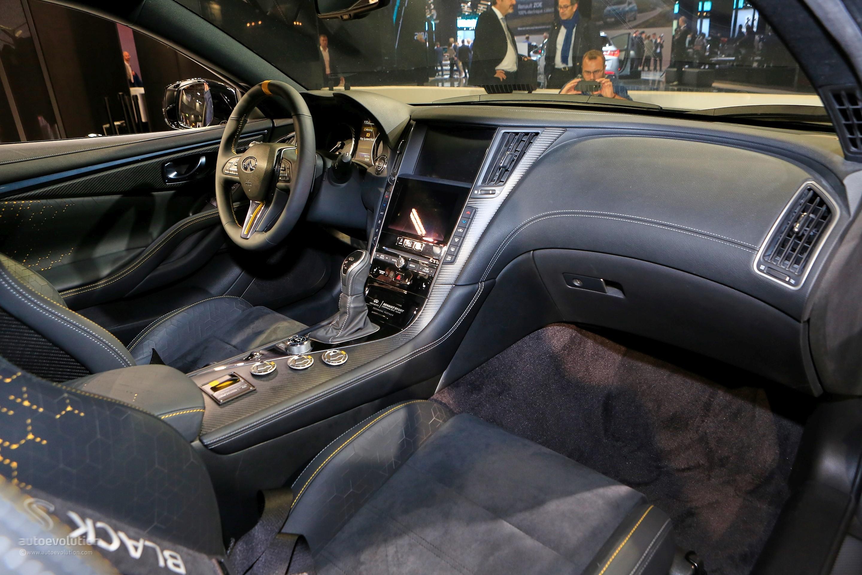 Q60 Black S >> 563 Hp Infiniti Q60 Black S Shows Functional F1 Hybrid In