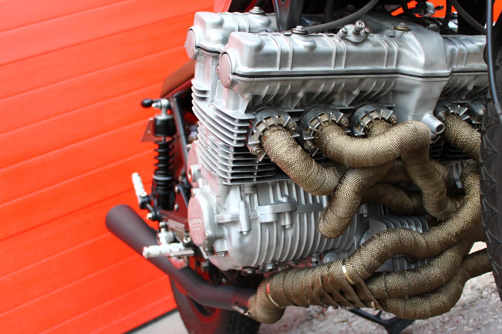 6 Cylinder Honda Cbx1000 By Tarmac Custom Motorcycles