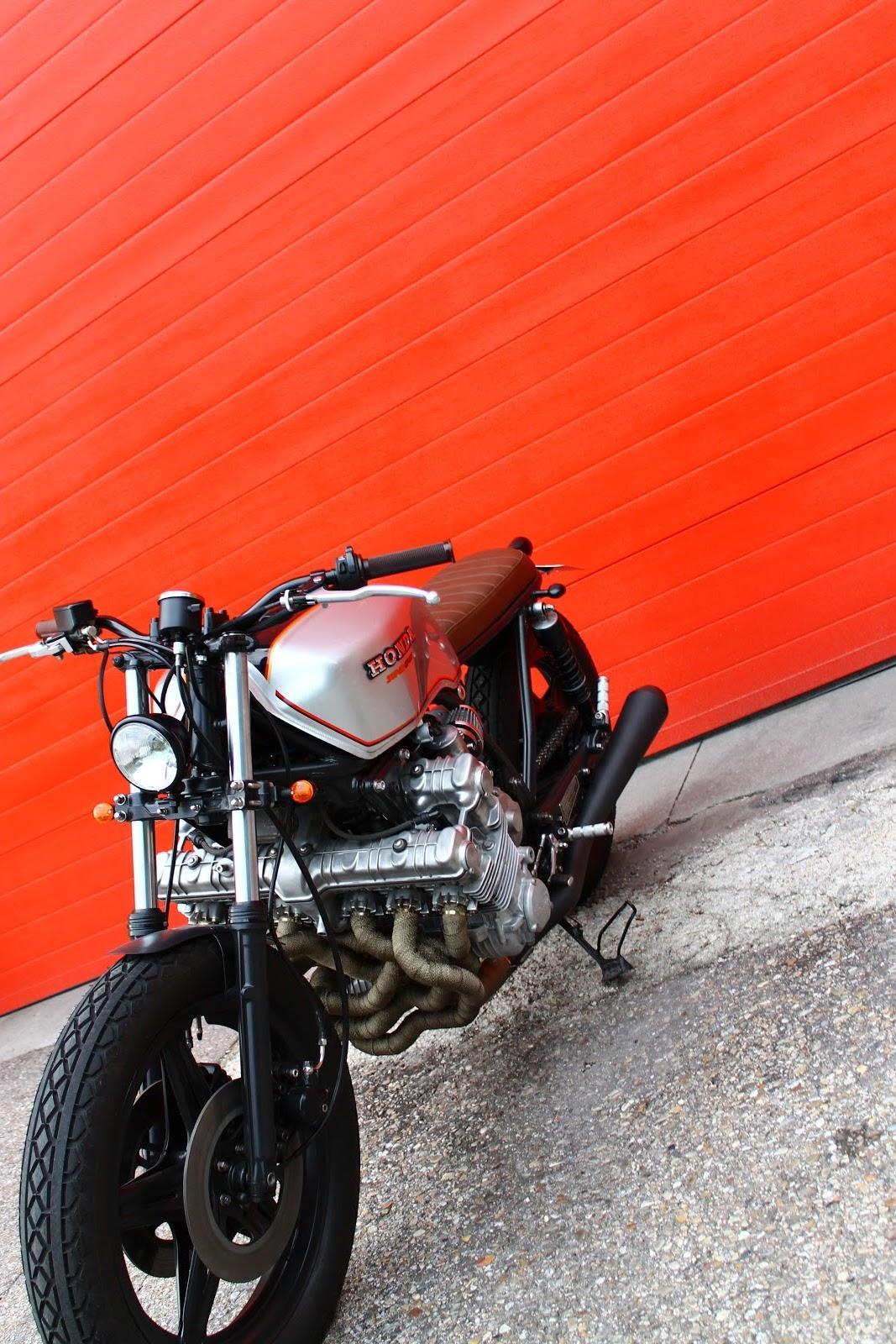 6-Cylinder Honda CBX1000 By Tarmac Custom Motorcycles