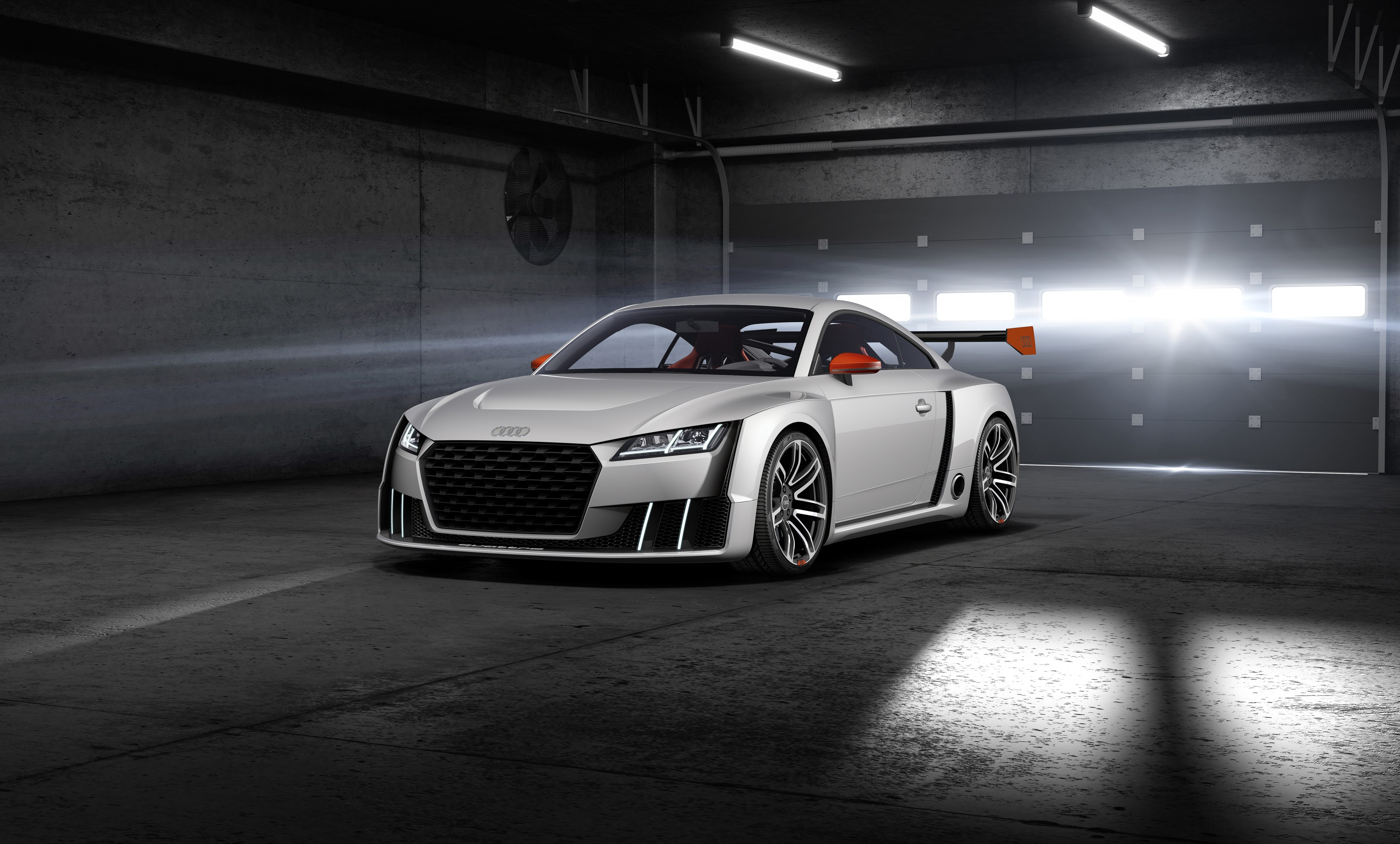 600 Hp Audi Tt Clubsport Brings 2 5 Tfsi With Electric