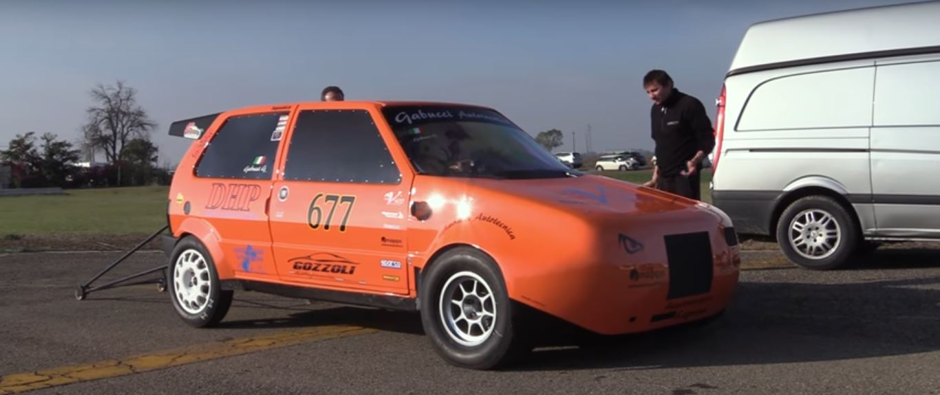 600 hp fiat uno turbo dragster delivers 9s quarter mile runs 600 hp fiat uno turbo dragster thecheapjerseys Gallery