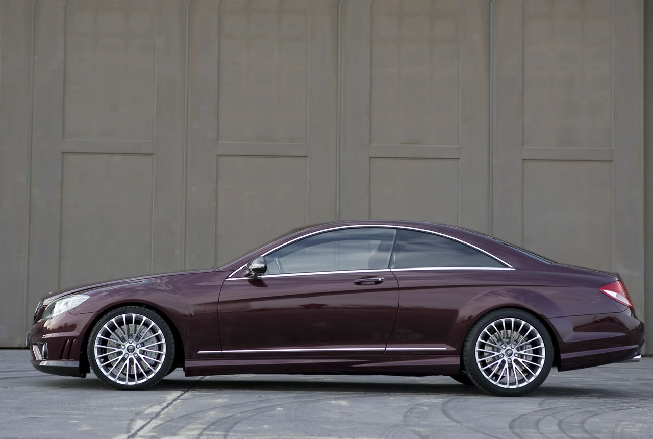 650 hp crammed in the cl 65 coupe by kicherer autoevolution for Mercedes benz 650