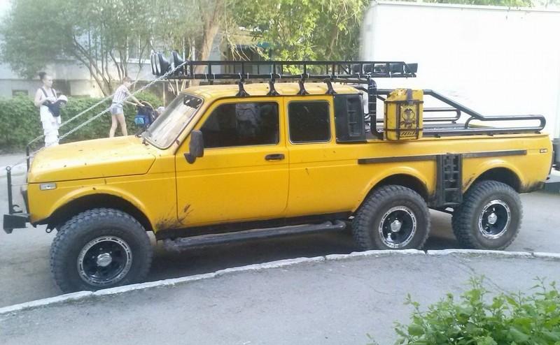 6x6 Lada Niva Is Russias Response To German Engineering