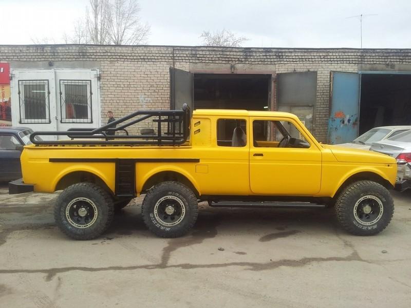 6x6 lada niva is russia s response to german engineering autoevolution