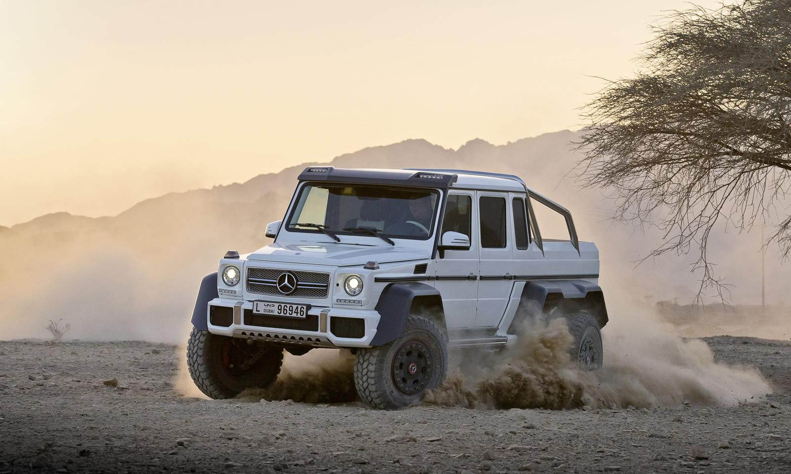 6x6 mercedes benz g63 amg pics aplenty autoevolution for Mercedes benz g63 6x6 for sale