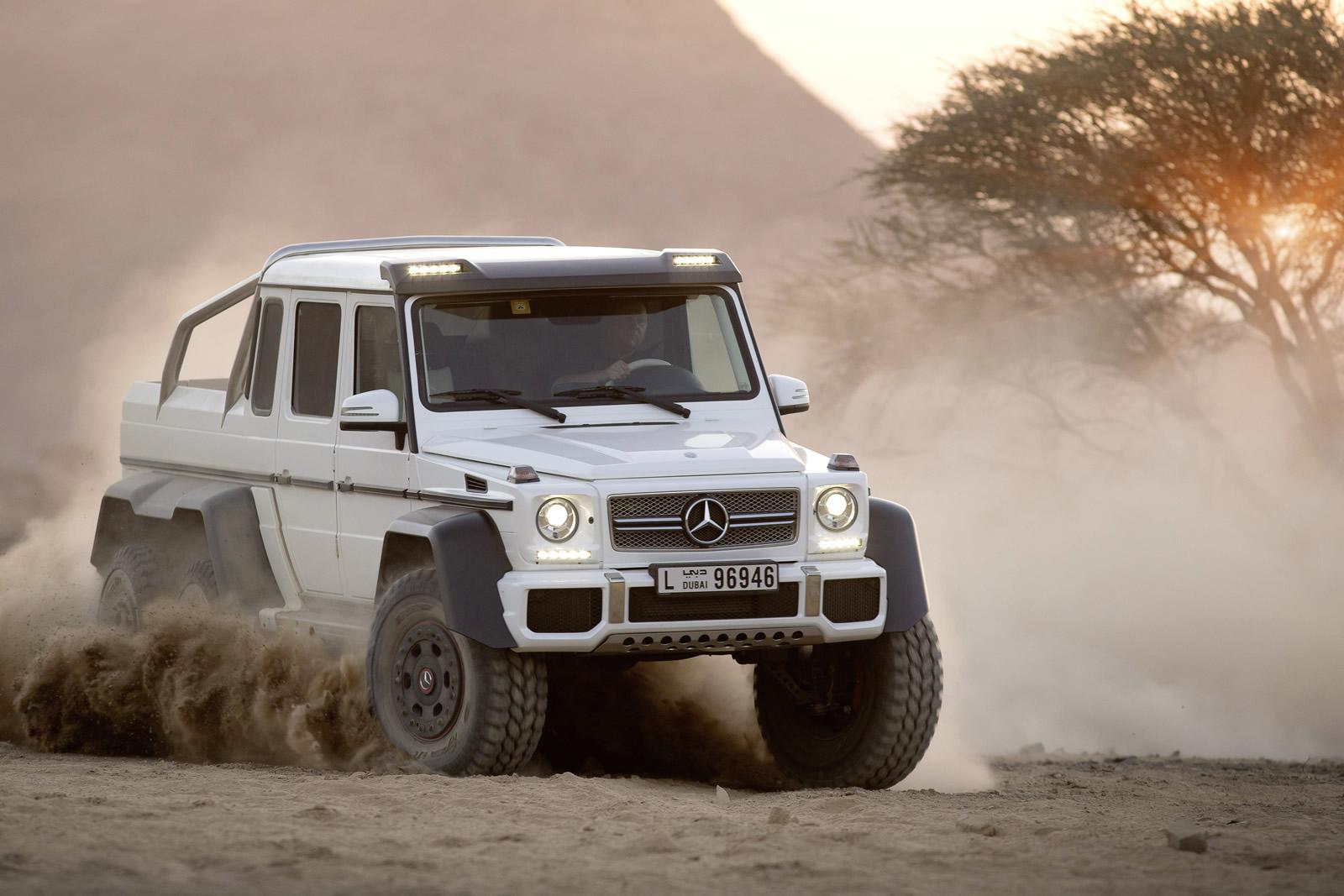 6x6 Mercedes-Benz G63 AMG Pics Aplenty - autoevolution