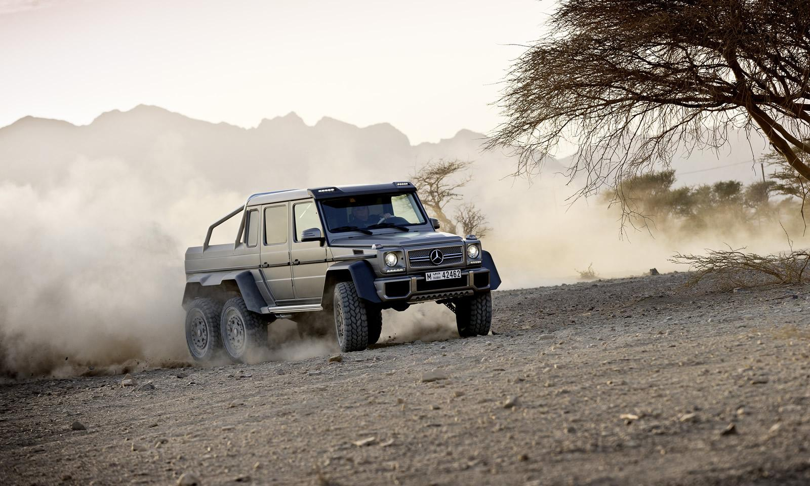 6x6 mercedes benz g63 amg pics aplenty autoevolution for Mercedes benz amg 6x6 price