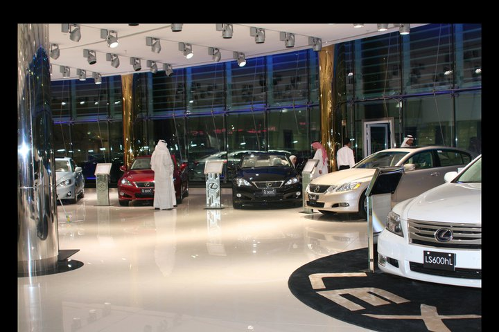 7 Star Lexus Showroom Opens Doors In Kuwait Autoevolution