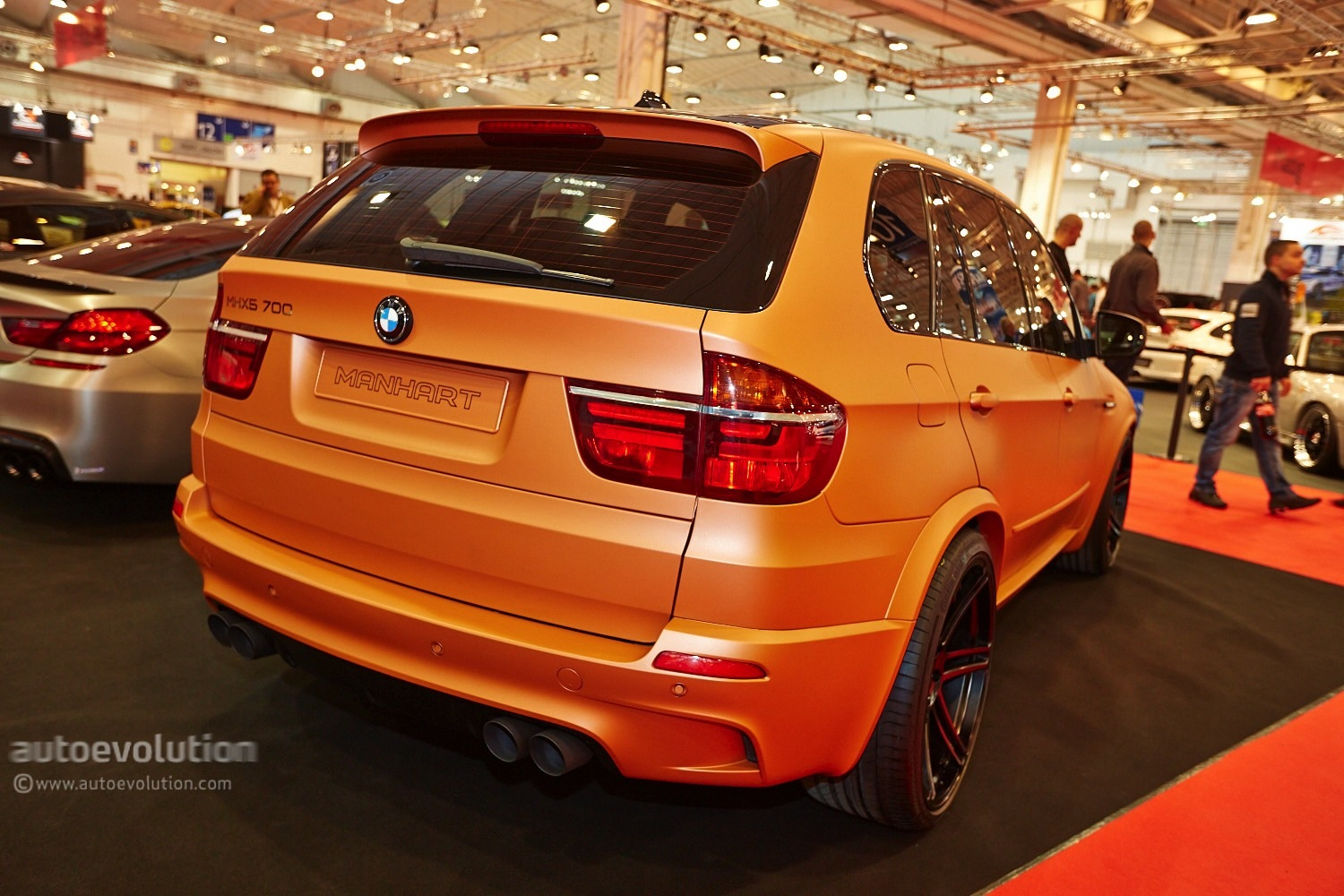 700 HP BMW E70 X5 M Shows Up at Essen Motor Show 2013 with ...