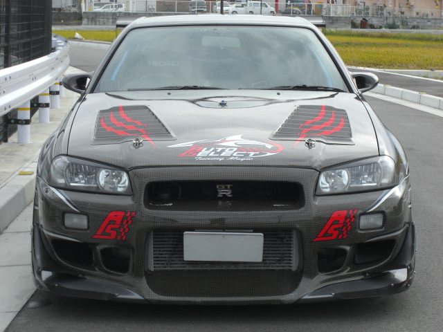 700HP R34 Auto Select Nissan GT-R for Sale - autoevolution