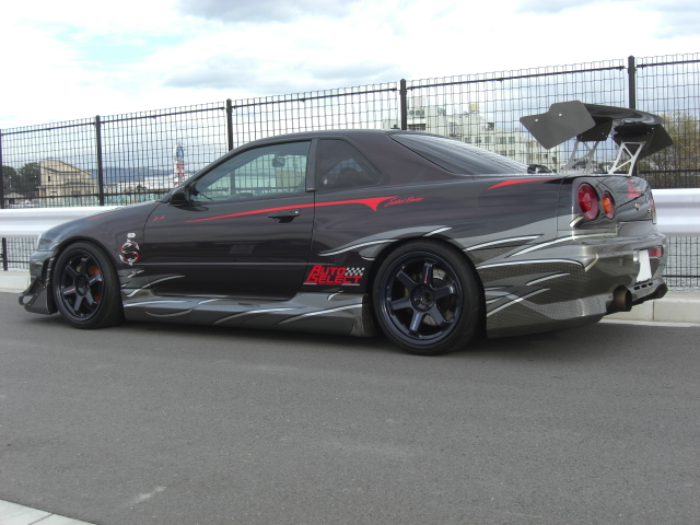 700hp r34 auto select nissan gt r for sale autoevolution. Black Bedroom Furniture Sets. Home Design Ideas