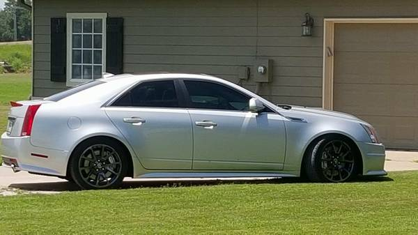 Cadillac Cts V Sedan With 704 Rwhp Shows Up On Craigslist