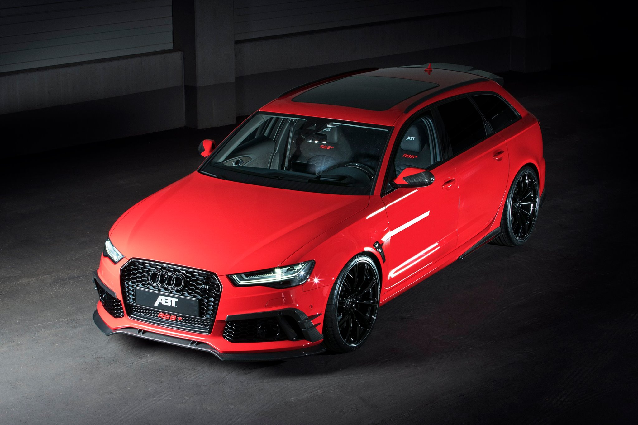 HP Audi RS By ABT Is Quite Brisk To KMH On Autobahn - Audi rs6