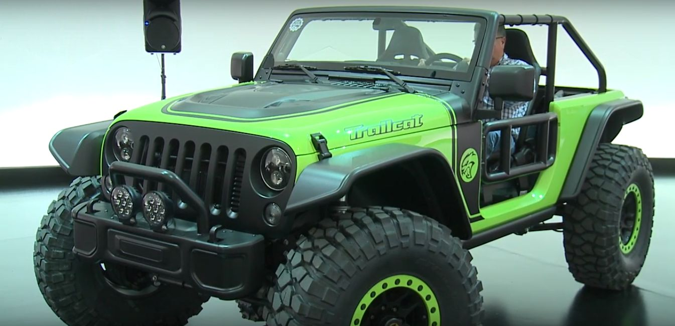 ... HP Jeep Trailcat Is a Hellcat-Powered Wrangler with Dodge Viper Seats