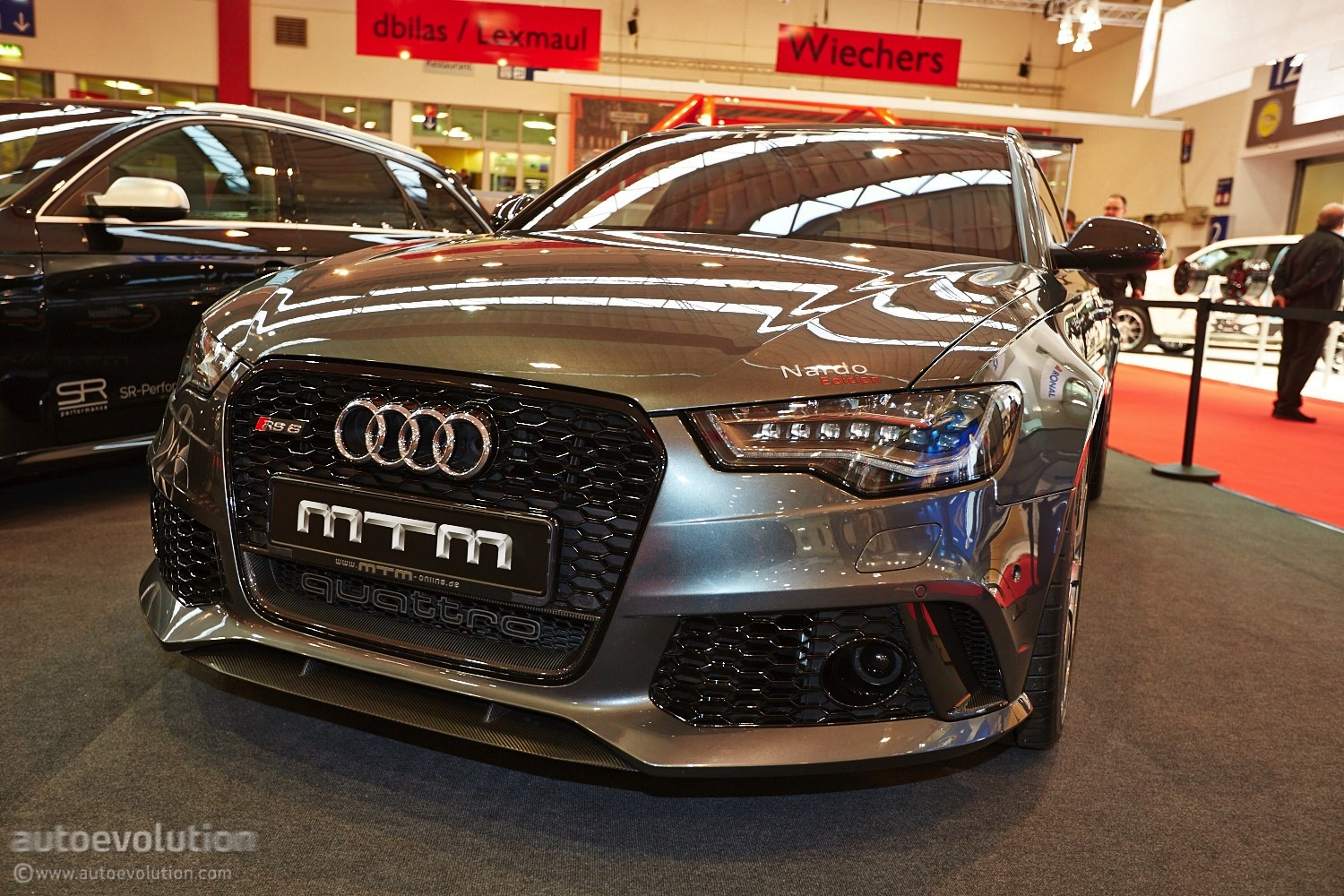 722 HP Audi RS6 by MTM Shows Up at Essen Motor Show 2013 ...