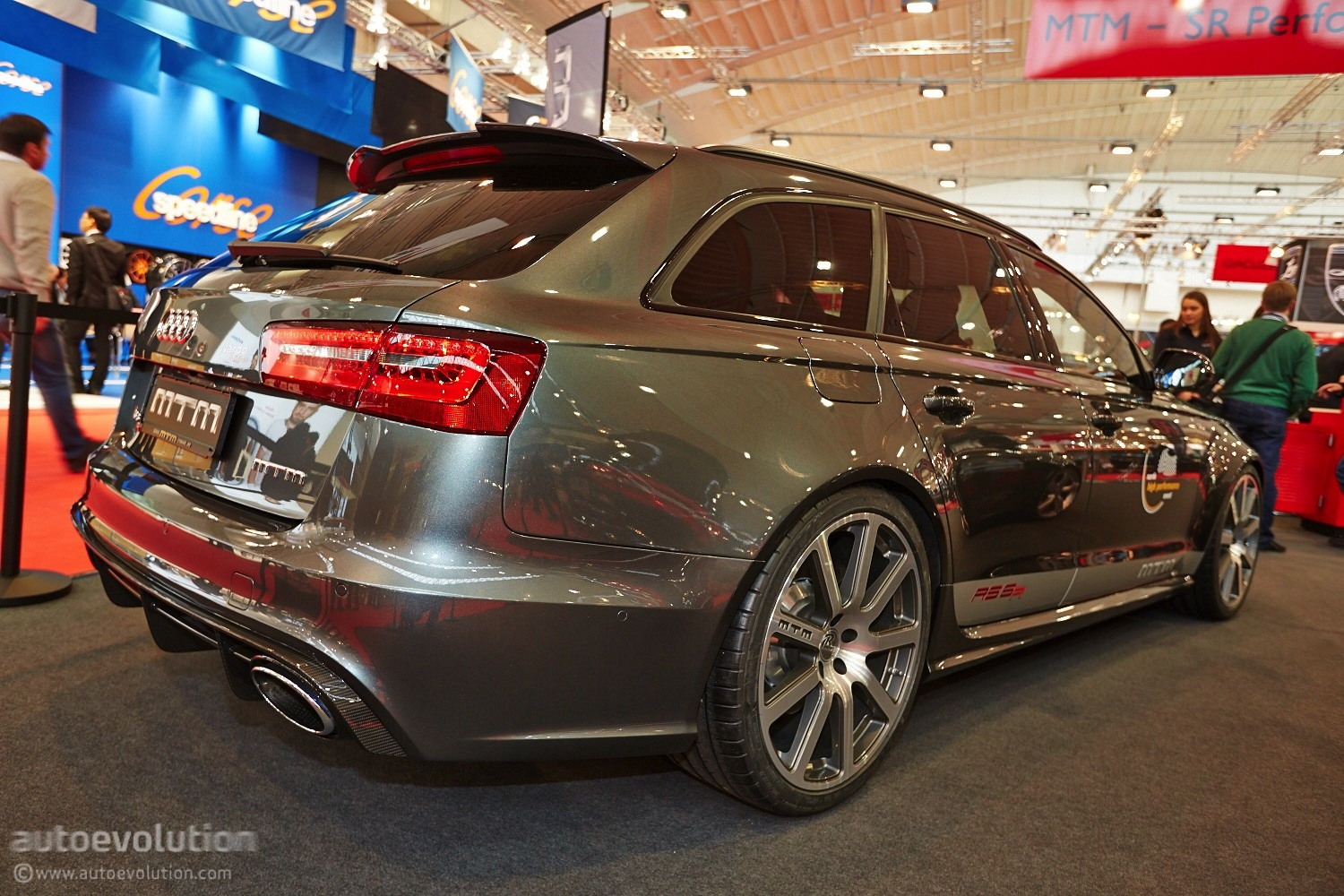 722 hp audi rs6 by mtm shows up at essen motor show 2013 live photos autoevolution. Black Bedroom Furniture Sets. Home Design Ideas