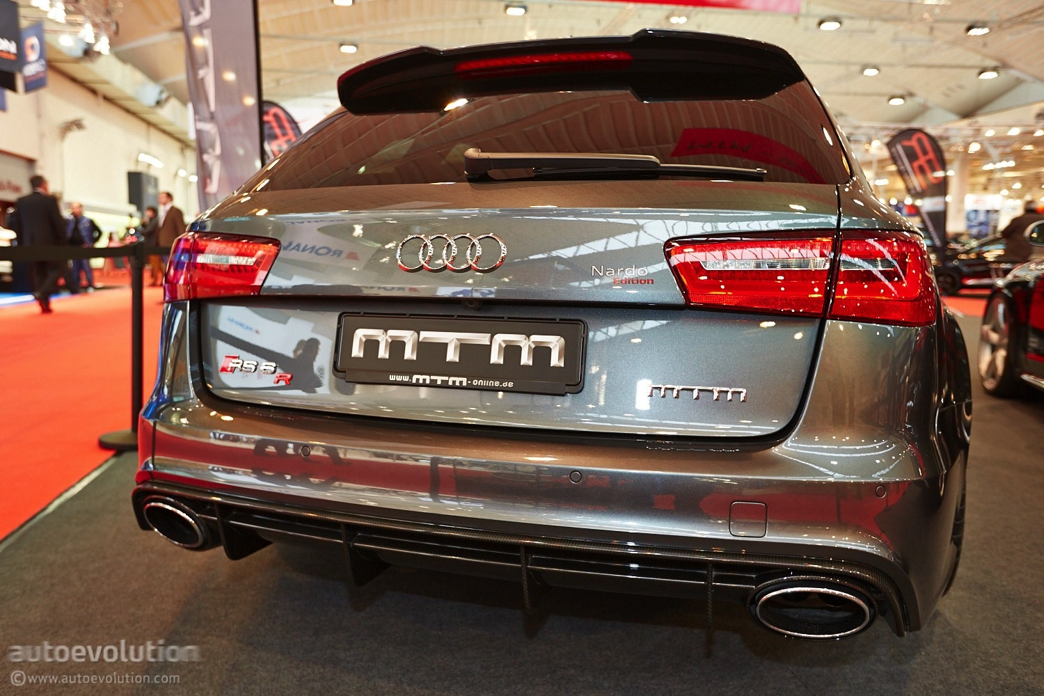 2015 Audi Q5 >> 722 HP Audi RS6 by MTM Shows Up at Essen Motor Show 2013 [Live Photos] - autoevolution