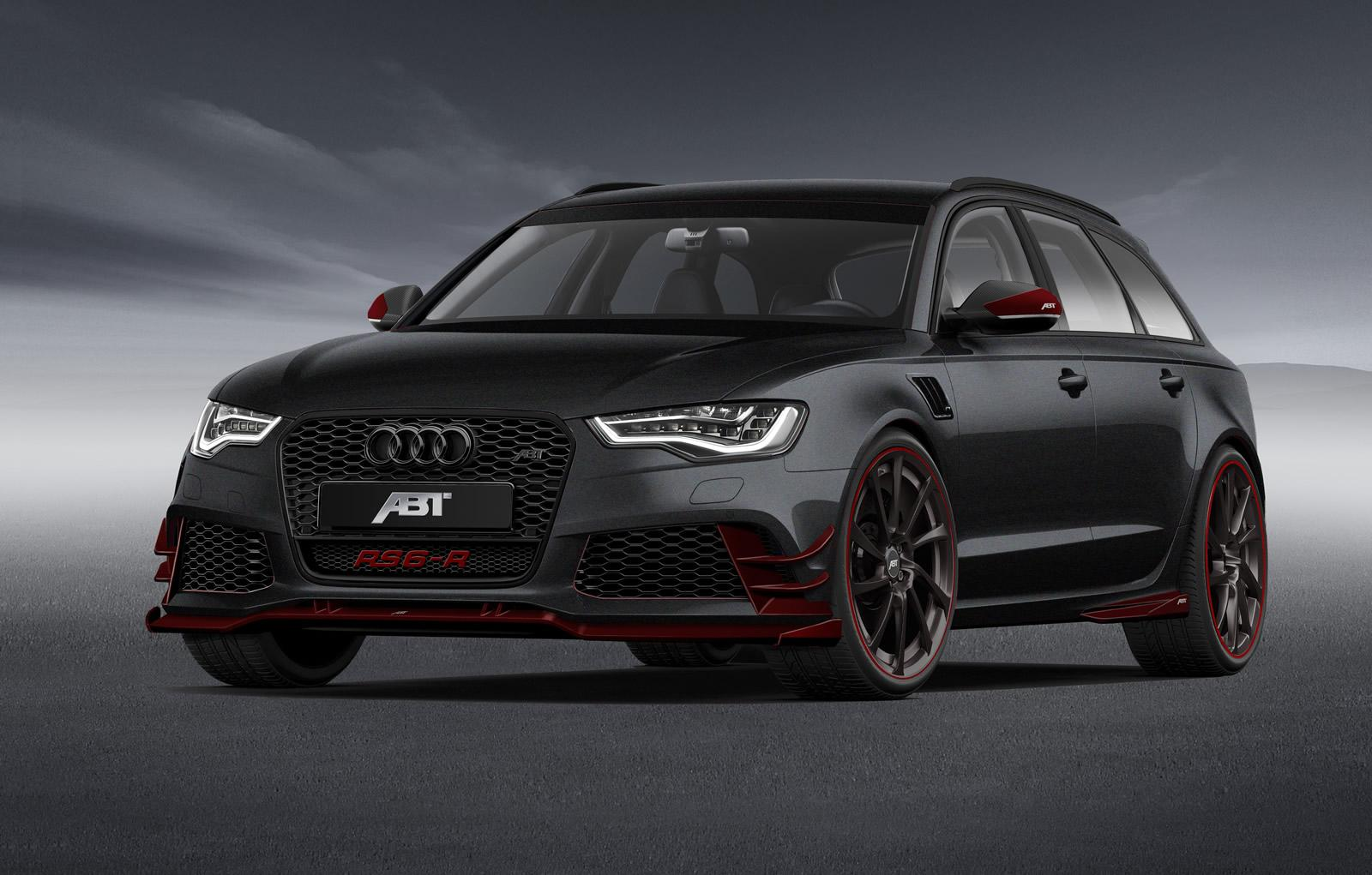 730 Hp Abt Audi Rs6 R Drifting On The Track Is A