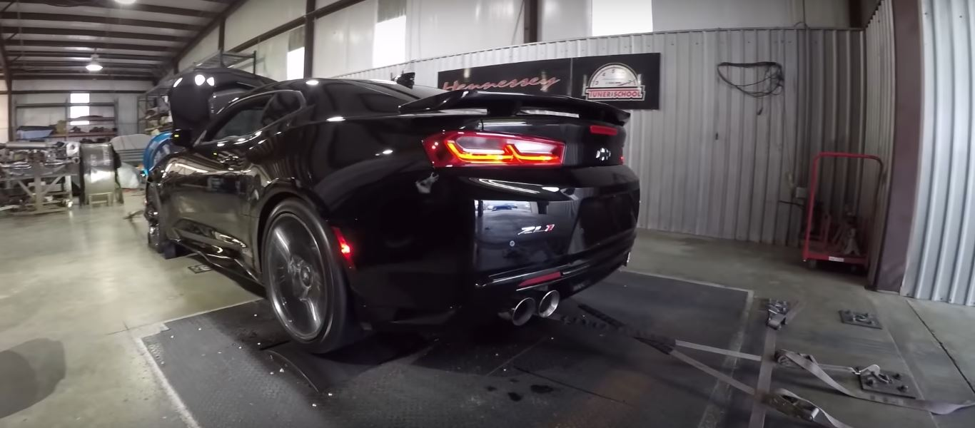 750 HP Hennessey 2017 Camaro ZL1 Sounds Like a Freaking