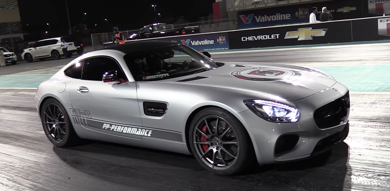 760 HP Mercedes-AMG GT Sets New Quarter-Mile Record in Abu Dhabi - autoevolution
