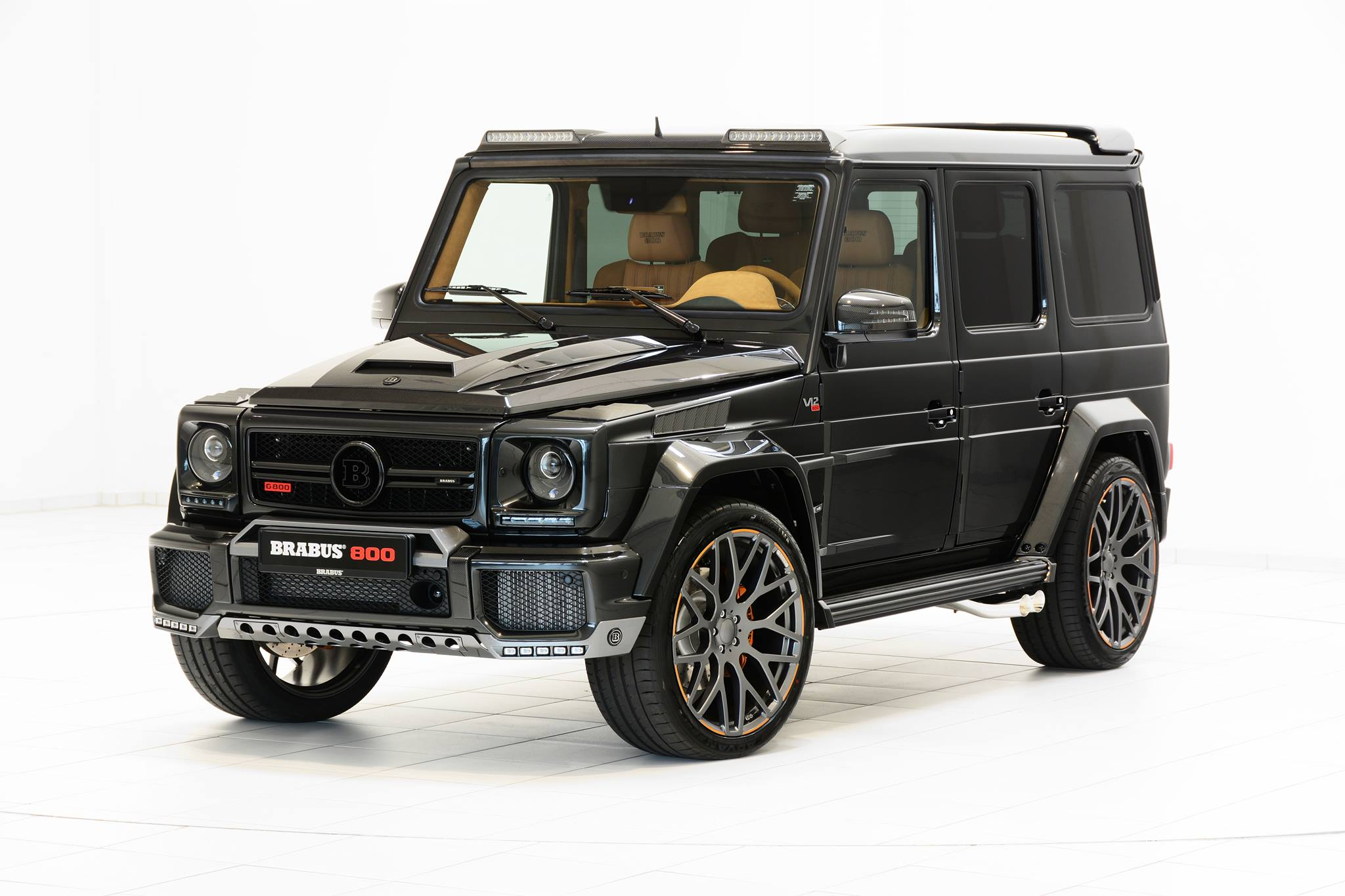 G Wagon Brabus 2016 >> 800 HP V12 Brabus is Based on Mercedes-AMG G65 - autoevolution