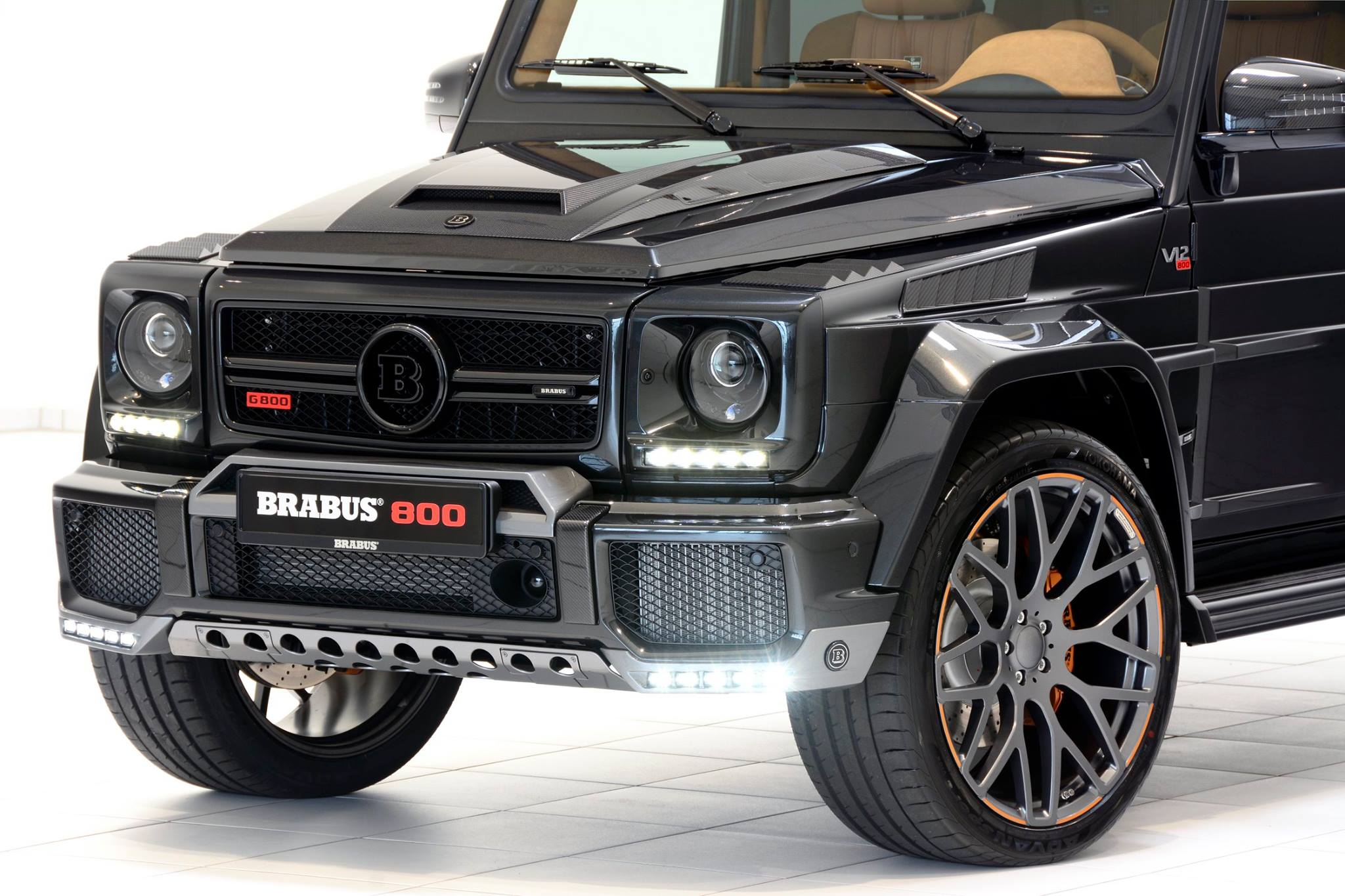 800 hp v12 brabus is based on mercedes amg g65 autoevolution for Mercedes benz g wagon v12