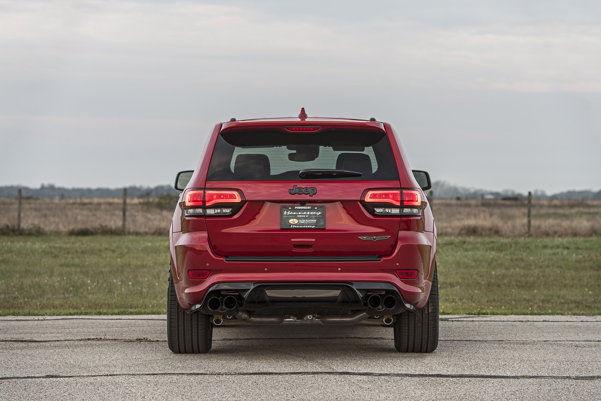 850 HP Hennessey Jeep Grand Cherokee Trackhawk Delivers ...