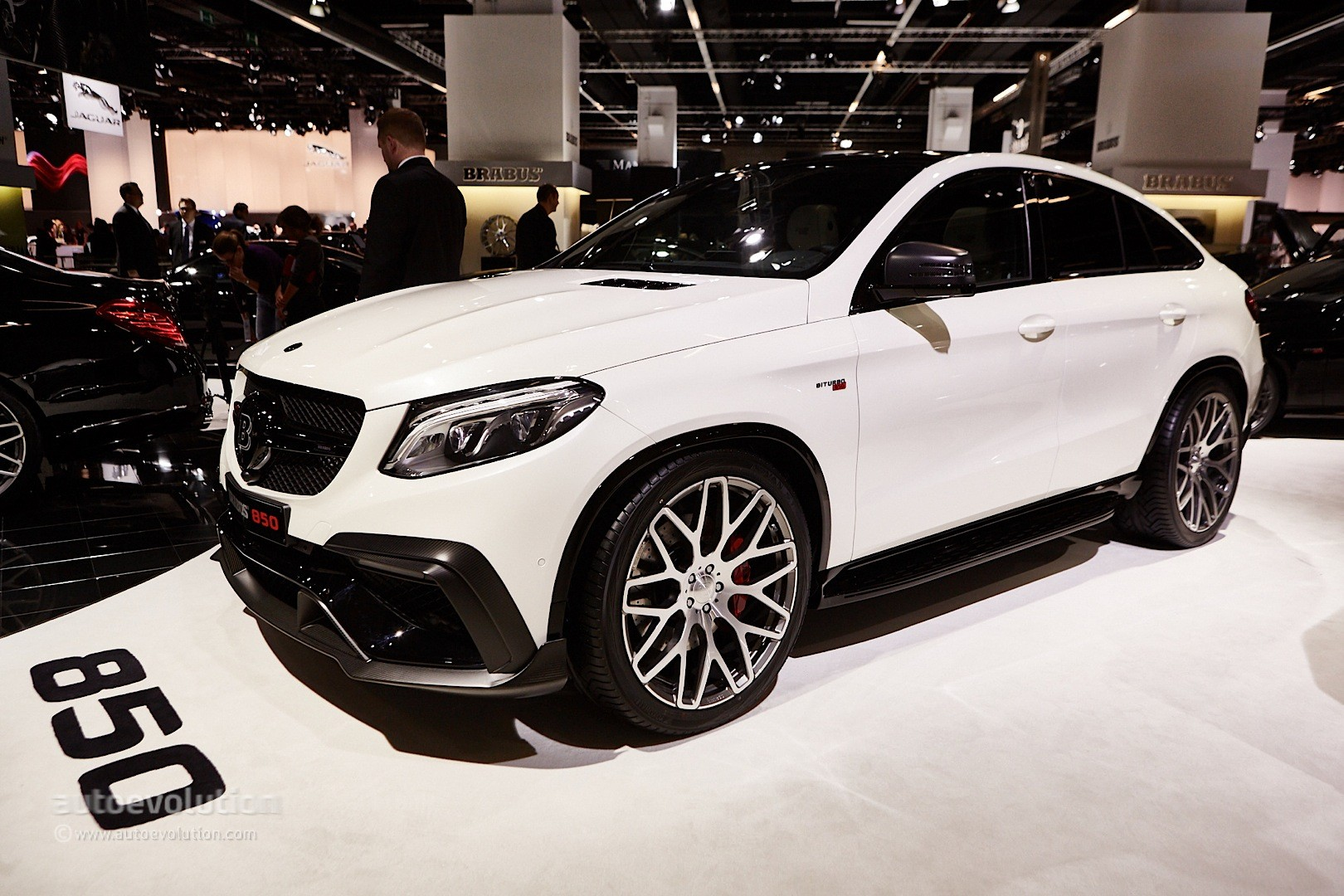 850 hp mercedes amg gle 63 coupe by brabus is tricky to. Black Bedroom Furniture Sets. Home Design Ideas