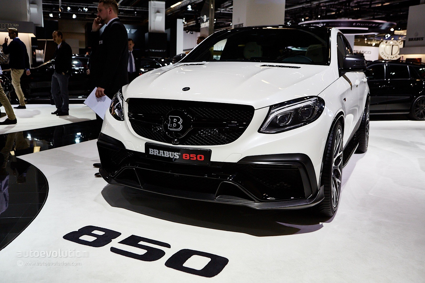 mercedes amg gle 63 coupe by brabus has 850 hp mercedes gle forum. Black Bedroom Furniture Sets. Home Design Ideas