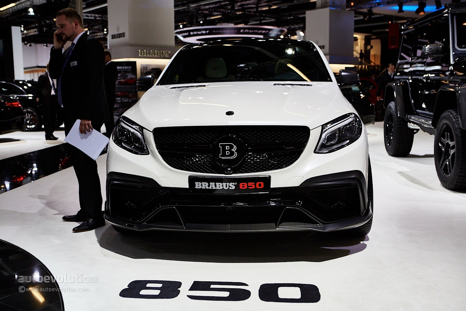 850 Hp Mercedes Amg Gle 63 Coupe By Brabus Is Tricky To Name But Awesome Autoevolution