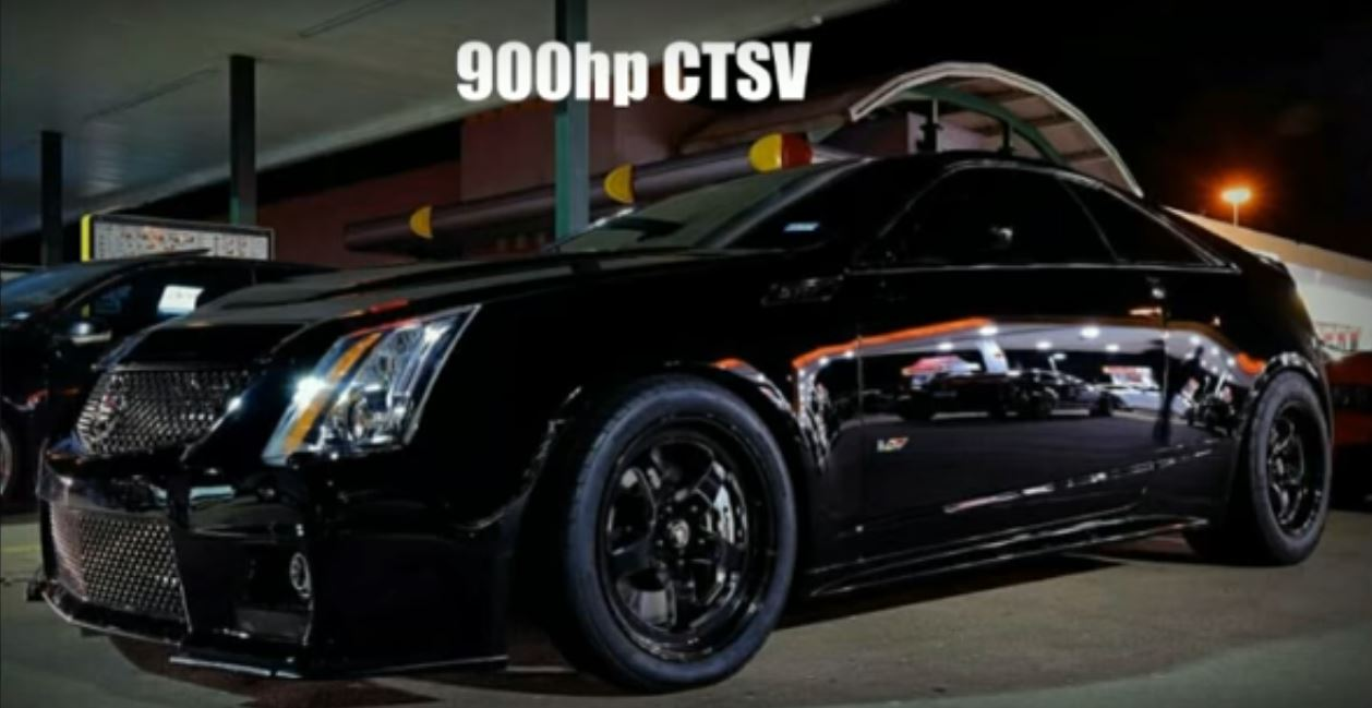 870 Hp Charger Hellcat Drag Races 900 Hp Cadillac Cts V In Texas