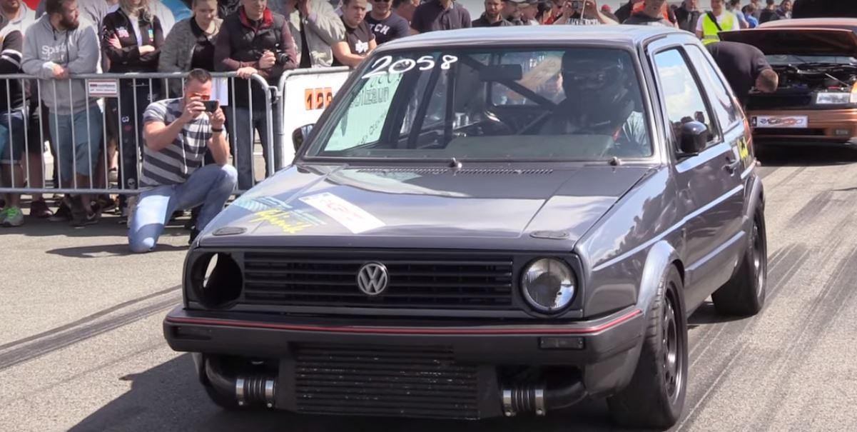 950 hp volkswagen golf mk ii is a turbo vr6 hero does. Black Bedroom Furniture Sets. Home Design Ideas