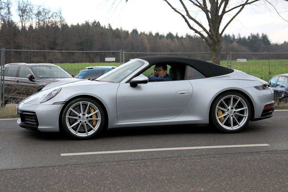 992 Porsche 911 Cabriolet Spied Gt3 Cabrio Rumors Grow