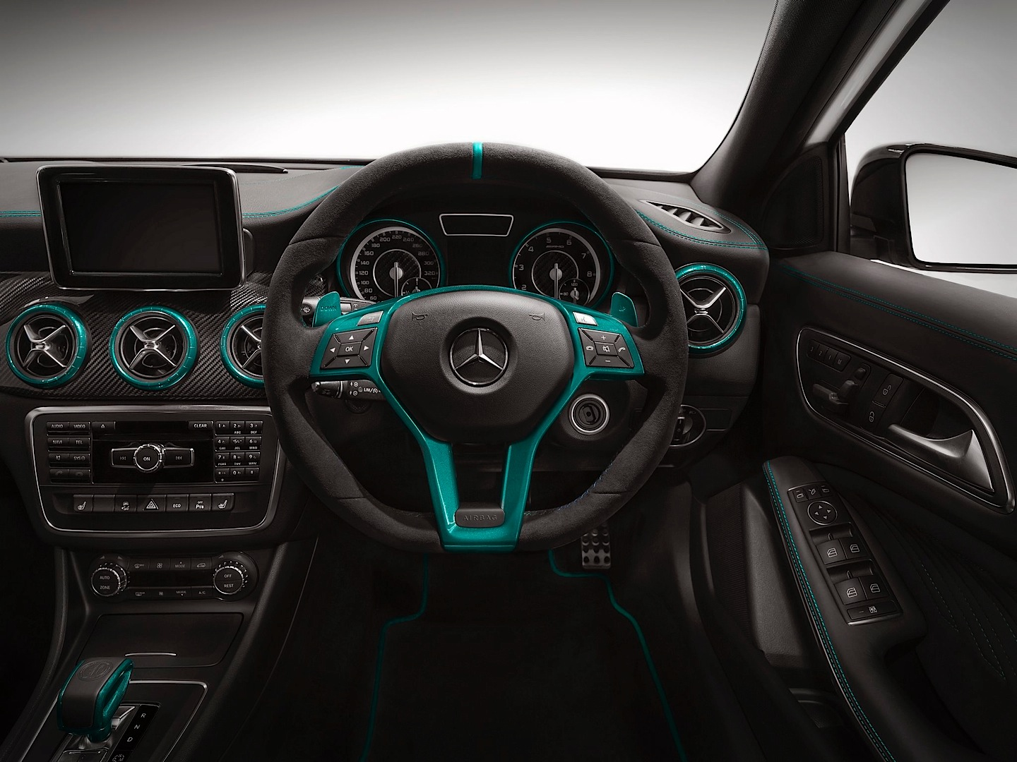 a 45 amg petronas green edition launched in japan. Black Bedroom Furniture Sets. Home Design Ideas