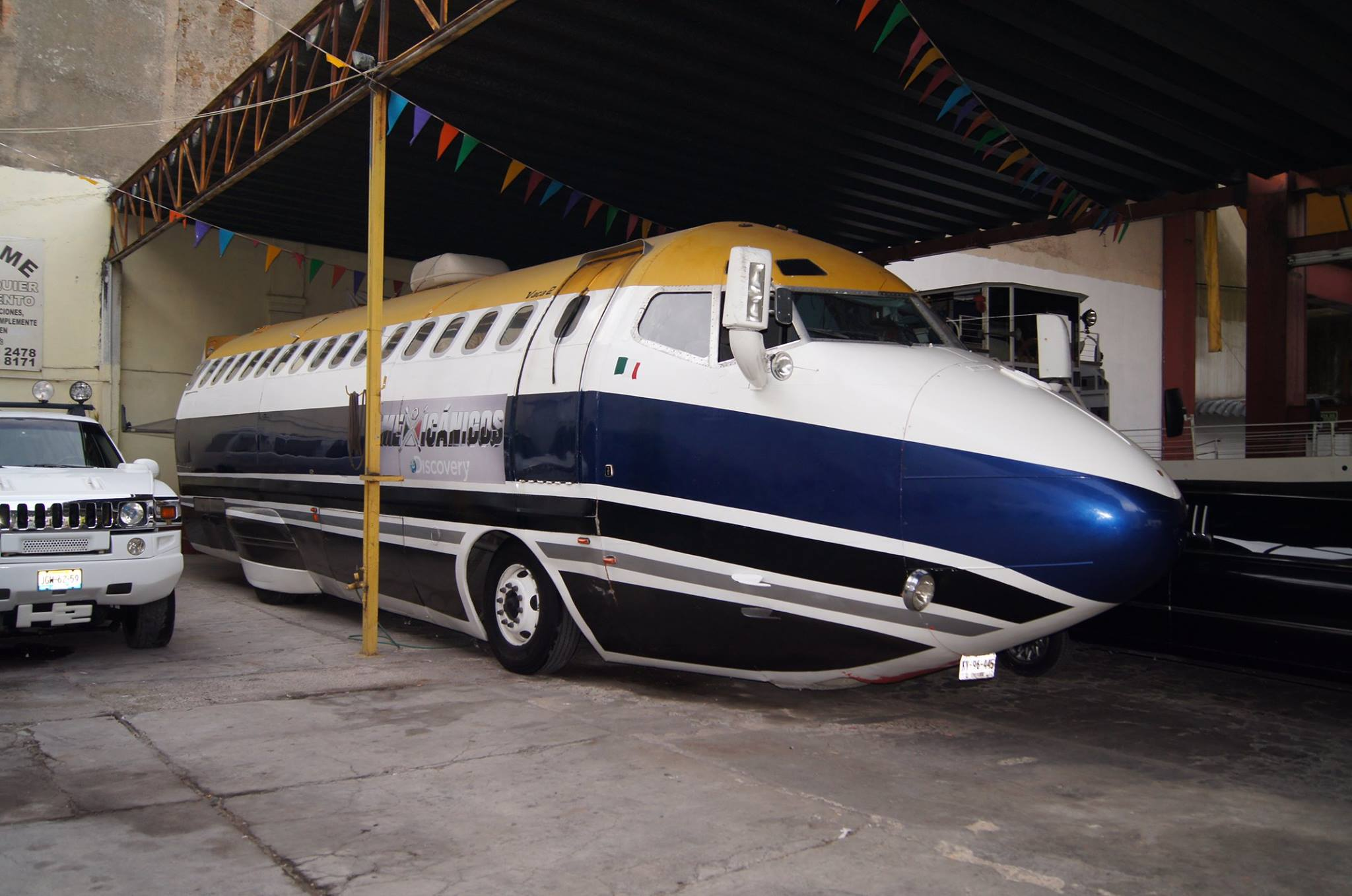 A Boeing 727 Jet Limousine Actually Exists and It's Road-Legal