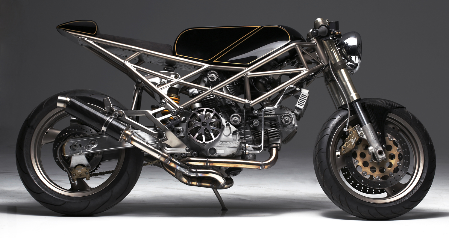 A Ducati Monster 900 By Hazan You Won T Recognize Autoevolution