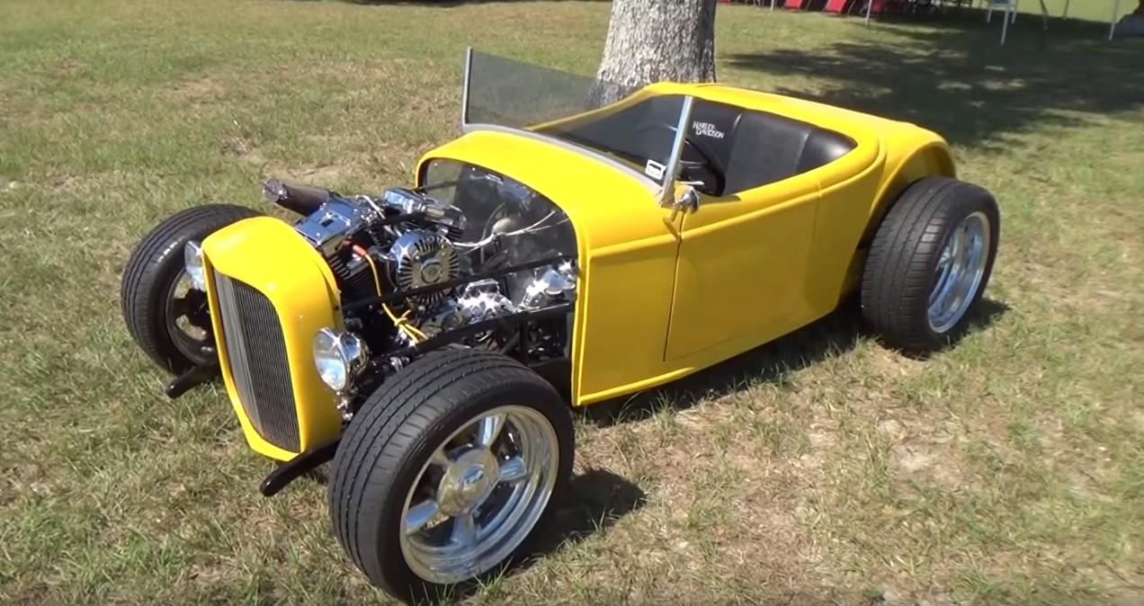 A Harley Davidson Powered 32 Roadster Sounds Cool Looks Even Better