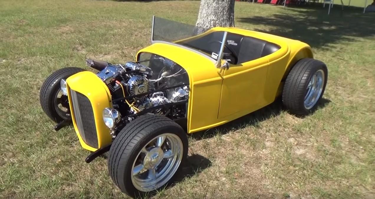Harley Powered Race Car